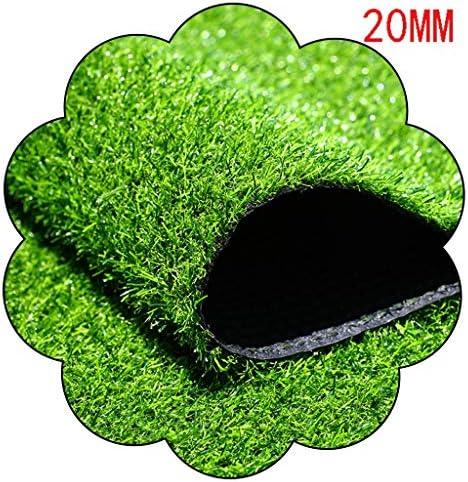 XEWNEG 20ミリメートルガーデン人工ターフ、グリーンペットカーペットマット、屋外バルコニー幼稚園の装飾に適した簡単にクリーンないフェード、幅2M (Size : 2x1.5M)