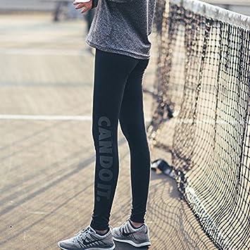 Xuanku Deporte Pantalones Skinny De Secado Rápido De Mujeres Yoga Ejecutando Nueve Puntos Fitness Docena De
