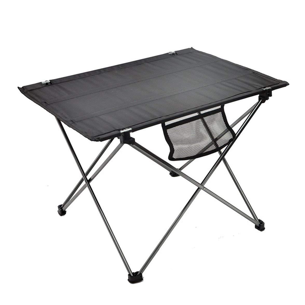 Pandamama Portable Folding Aluminum Roll Up Table Lightweight Outdoor Camping Picnic Ultra-Light Furniture Camping Table Tea Table by Pandamama