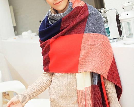KHH Womans Eternal Style Scarf Classic Elegant Carpet Lattice Scarf