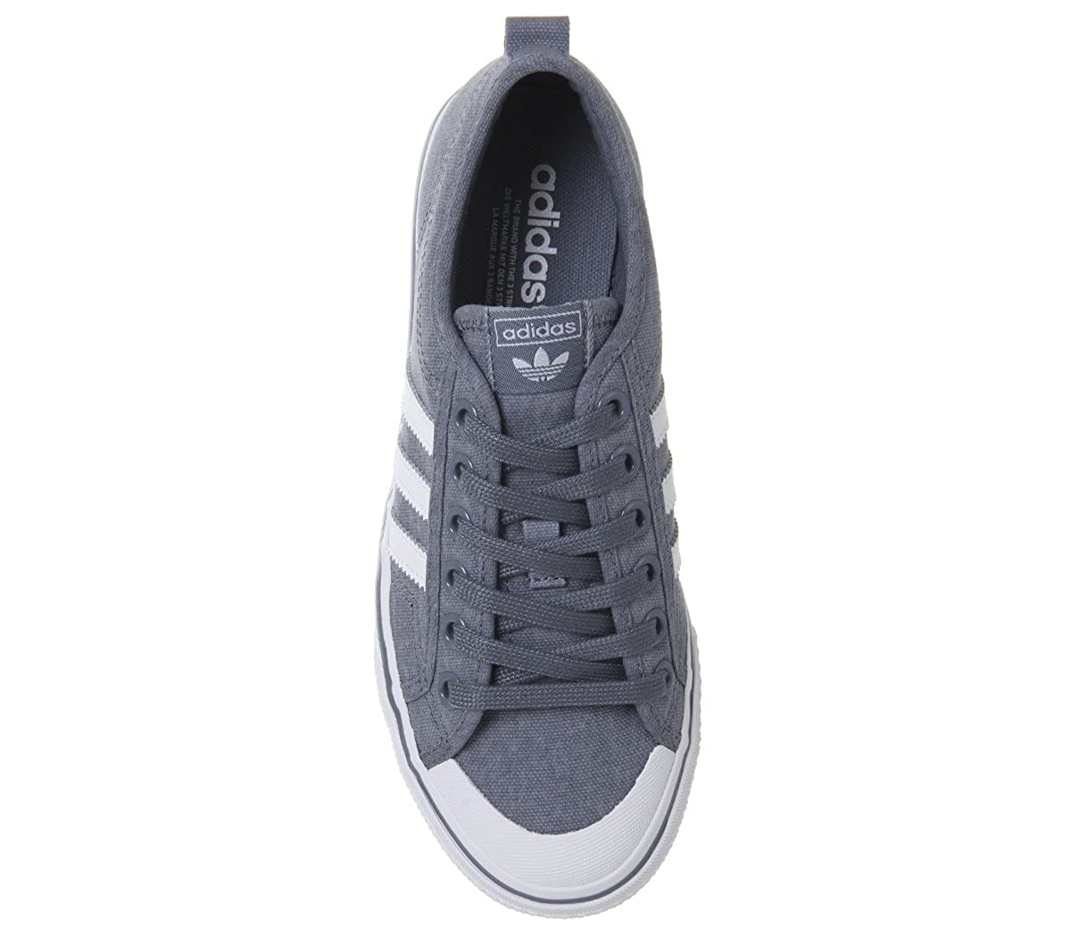 buy popular 1360d 32720 adidas Originals Damen Sneaker Nizza W CQ2537 Grau Amazon.de Schuhe   Handtaschen