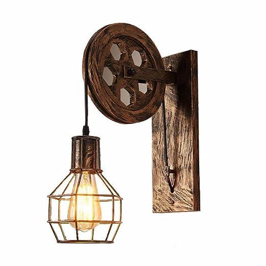 Amazon.com: Lámpara de pared de estilo industrial retro ...
