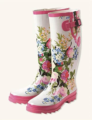 Victorian Trading Co May Day floral Wellies Boots  B0714BLP1C