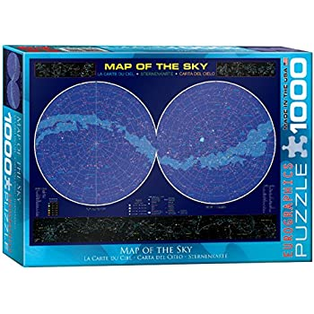 EuroGraphics Map of the Sky 1000 Piece Puzzle