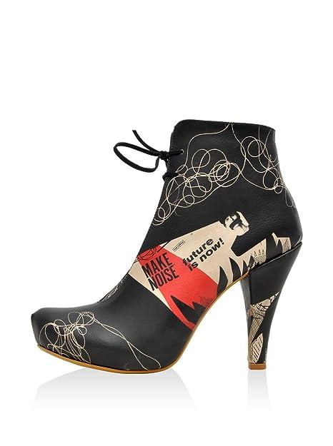 Y De Cordones Dogo Eu Botines Zapatos Collage 41Amazon Negro OPkuXiZ