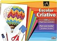 Caderno Colado Criativo, Tilibra, Académie, 32 Folhas