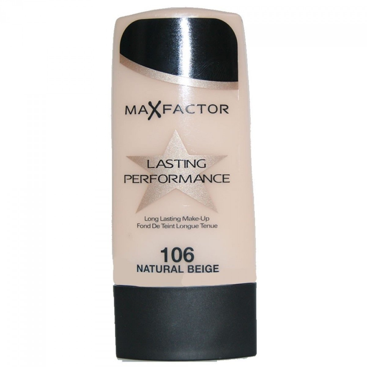 Max Factor Lasting Performance Foundation - 106 Natural Beige + FREE Curad Bandages 8 Ct.