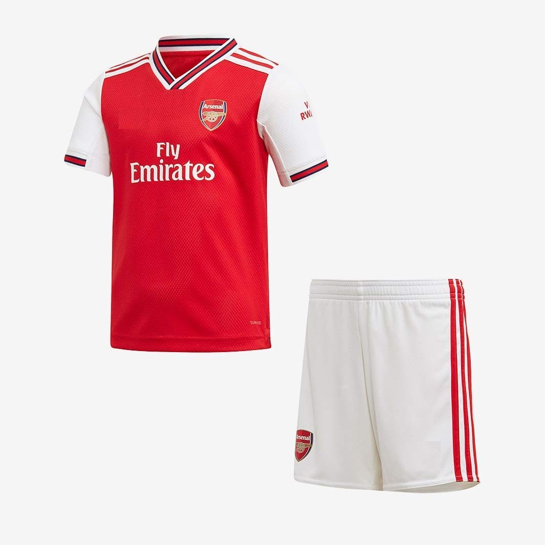 GOLDEN FASHION Non Arsenal Home Football Jersey KIT with Short 2018-19 (Large 40