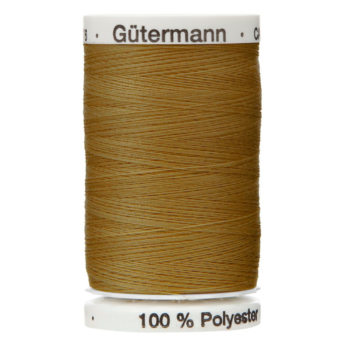 Colour 124 Gutermann Top Stitch Sewing Thread Extra Strong Thick Polyester Upholstery Jeans Denim Button Stitch (1 x 30 Meter Spool)