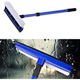 TOTAL HOME Fashion Creative Adjustable Handle Double Sided Window Windshield Glass Wiper Cleaner Wash Brush