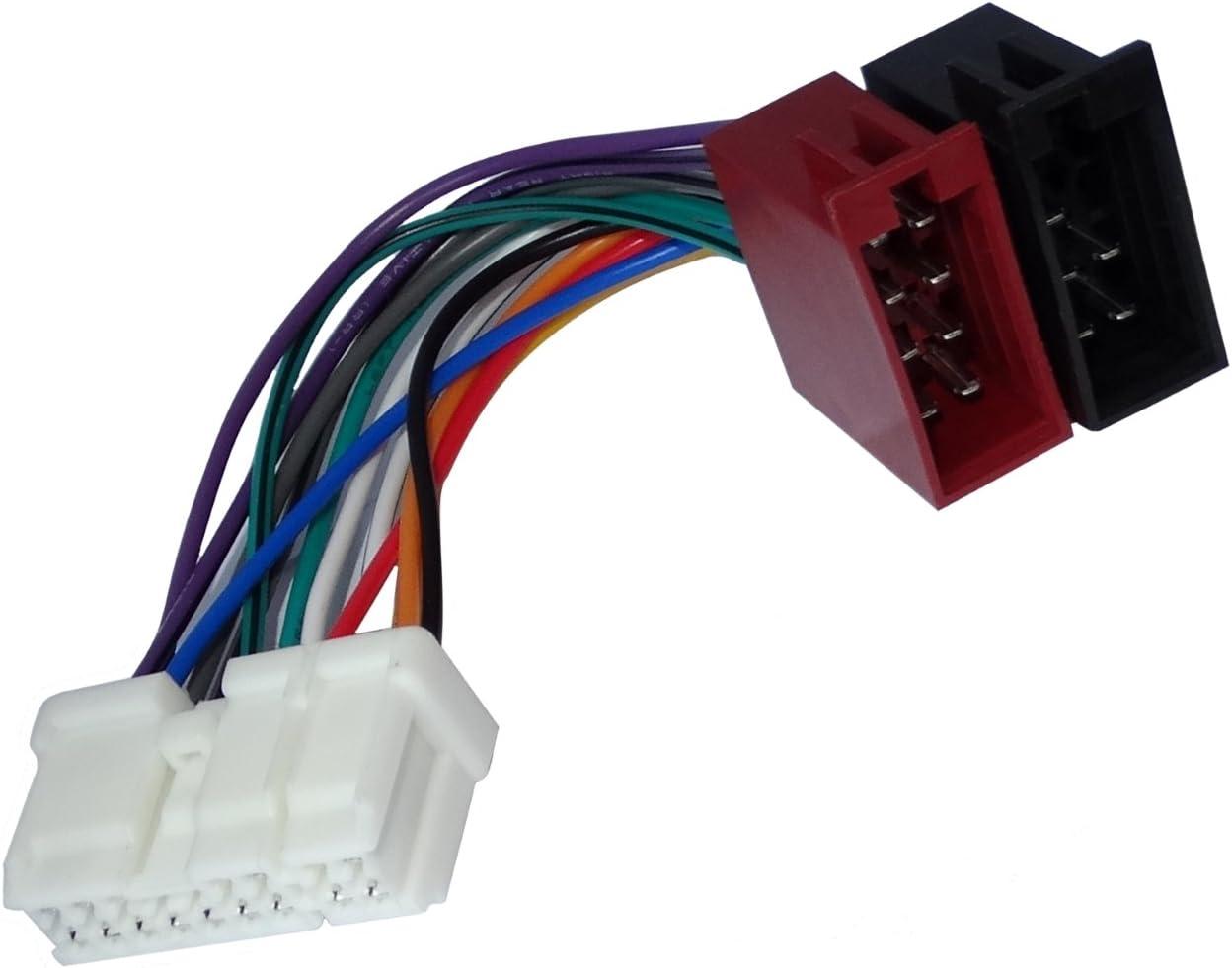 ISO Radio Adaptador Cable Nissan Almera primera x-trail tino micra Navara