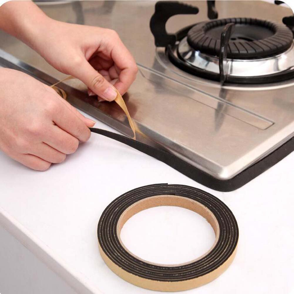 Fayear 3 Rolls 2 Metres Kitchen Bathroom Wall Sealing Tape Sink Basin Sealant Strips Dust-proofing Seal