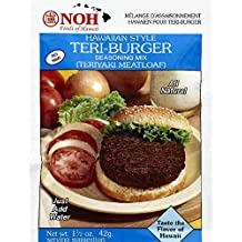 NOH Seasoning Mix, Teri-Burger, Hawaiian Style