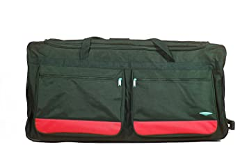9e869ae095eb Image Unavailable. Image not available for. Colour  Extra Large 34 quot   Lightweight Wheeled Holdall Duffle Suitcase 140L Travel Bag ...