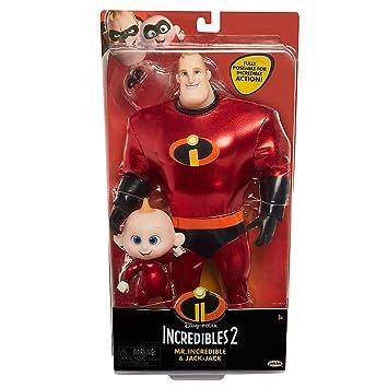 Incredibles 2 Precool 2 Pack Mr.Incredible /& Jack-Jack Jakks Pacific