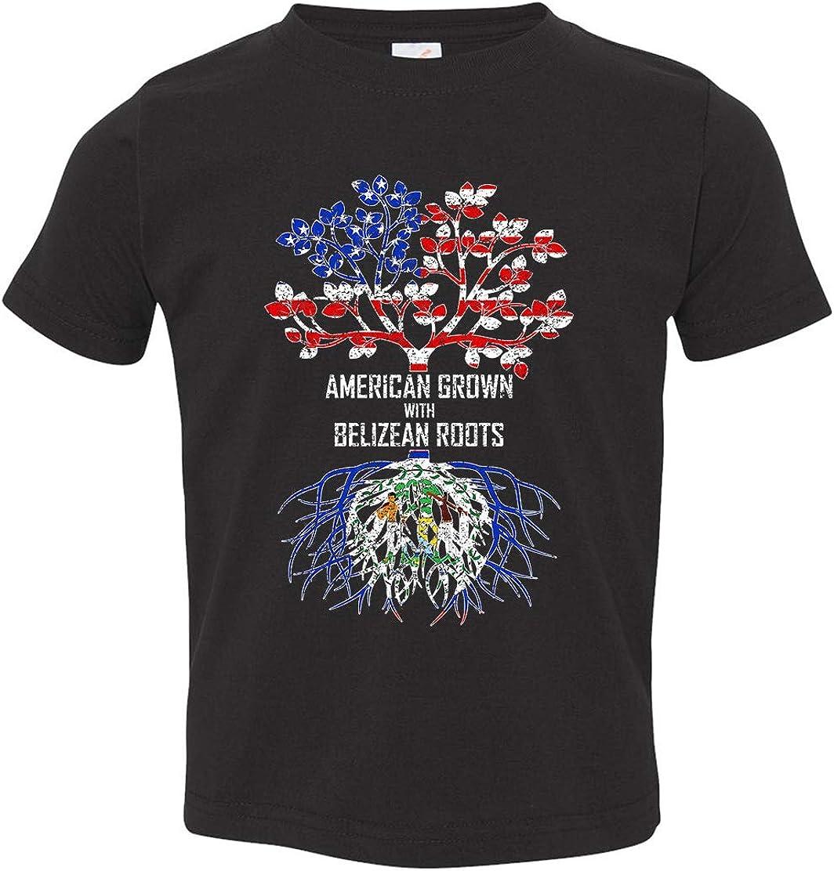 Tenacitee Babys American Grown with Belizean Roots Shirt