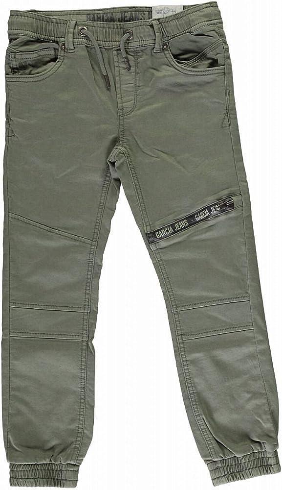 Garcia Jeans - Pantalones de chándal para niño Verde Oliva 9 años ...