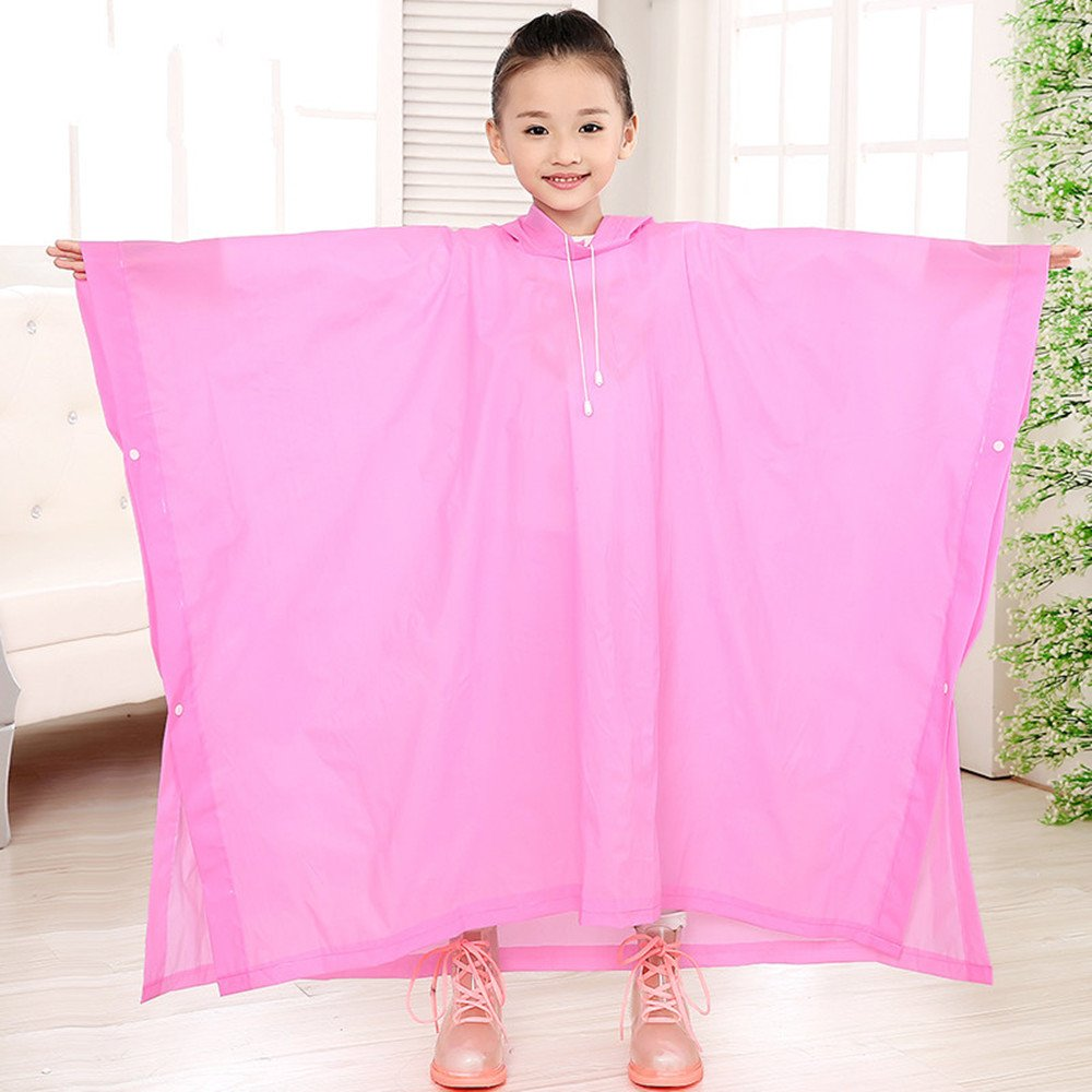 Spuer Light eva Fashion Kids Babys rain Poncho Raincoats