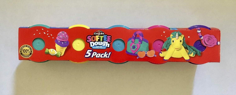 Cra-z-art Softee Dough Extreme Colors 5 Pack walmart