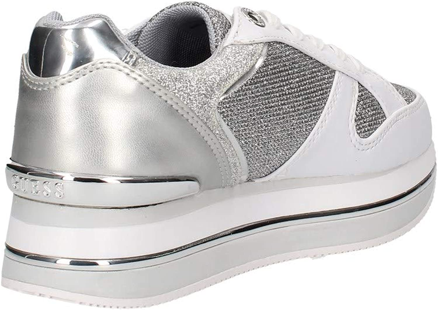 Guess FL5DLY Sneakers in Eco Pelle da Donna Animalier