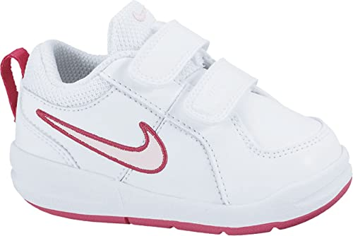 d52191030dc928 Nike Mädchen Pico 4 (Psv) Low-Top Weiß (White Prism Pink