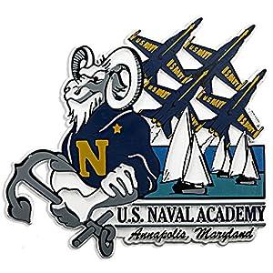 Magnet Jumbo Rubber U.S.Naval Academy