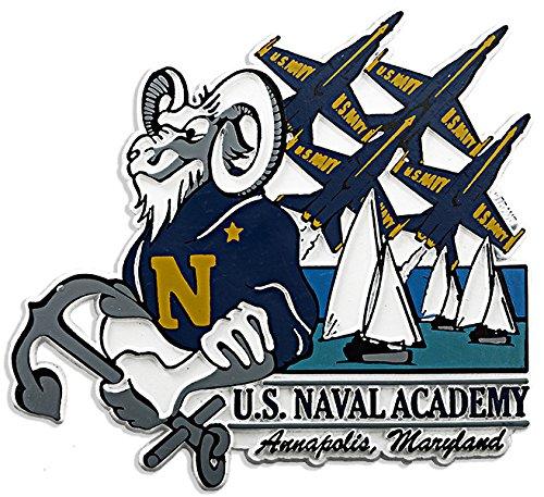 Magnet Jumbo Rubber U.S.Naval - Shopping Orlando Disney
