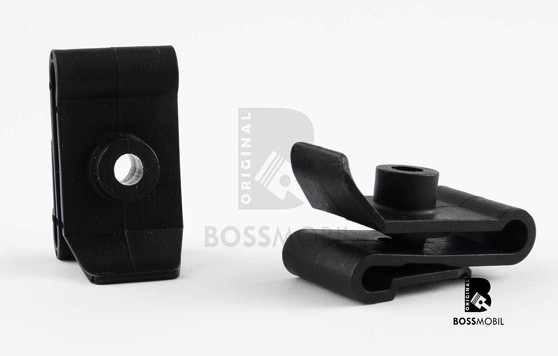 Original BOSSMOBIL kompatibel mit UNIVERSAL BEFESTIGUNG CLIP HALTERUNG STO/ßSTANGE KLEMMMUTTER SPREIZNIETE #NEU# 36 X 20 X 5 mm Menge
