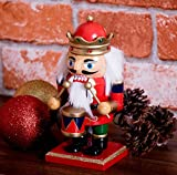 Traditional King Nutcracker by Clever Creations