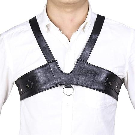 ZxioHat-ac Arnés para el Cuerpo Mens Faux Leather Ajustable ...