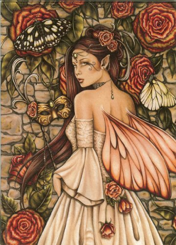 Vintage Rose Jessica Galbreth Open Edition A4 Fairy Print