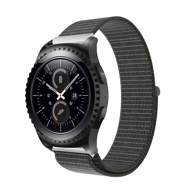 Glowjoy Pulsera para Samsung Gear S2 Classic Smart Watch, Nailon ...