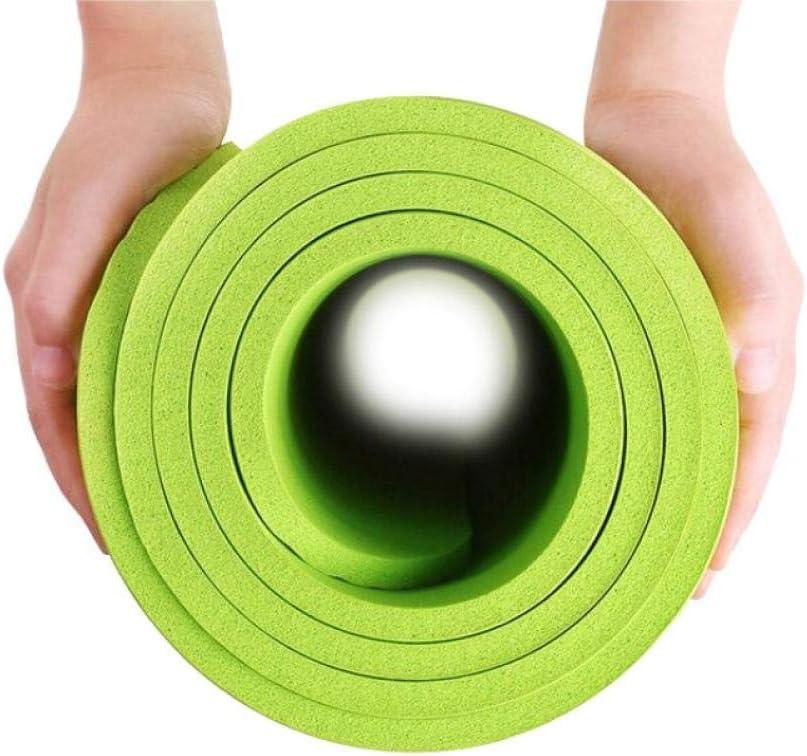 Plegable Zhcheng Estera de Yoga de Calidad 4 Colores Estera de Yoga Almohadilla de Ejercicio Gimnasio Grueso Estera de Fitness Suministros de Pilates Estera de Juego de Piso Antideslizante Inodoro