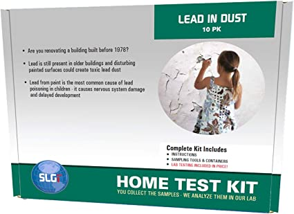 Amazon Com Lead Test Kit In Dust Wipes 10pk 5 Bus Days Schneider Labs Health Personal Care