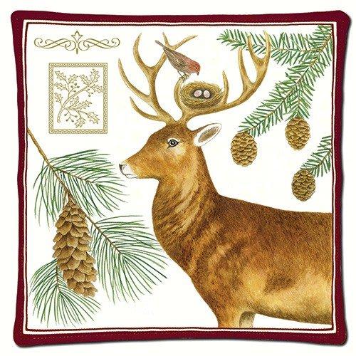 アリスのコテージHoliday Deer Spicedホットパッド B01K23CTLC 10932