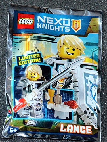 Deal LEGO Nexo Knights Limited Edition Minifigure – Lance (Foil Pack 271601)