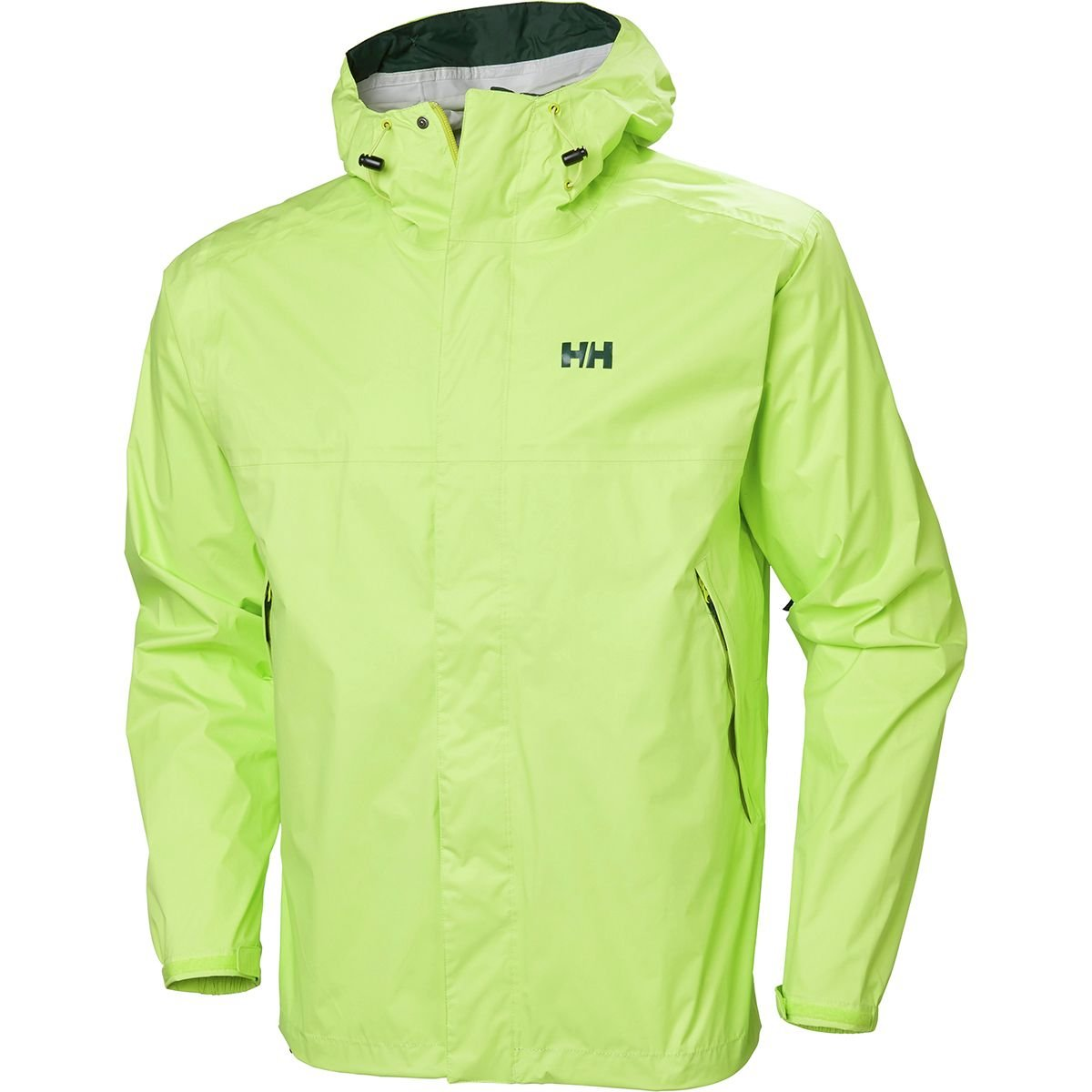 Helly Hansen Men's Loke Waterproof Windproof Breathable Adventure Rain Jacket, 395 Sharp Green, Small by Helly Hansen
