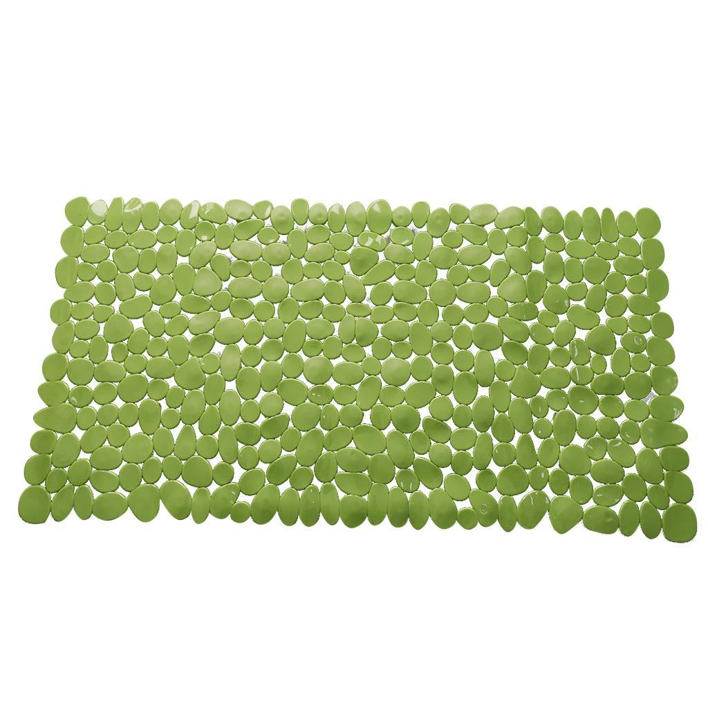 100cm transparent wei/ß Badewanneneinlage Badewannenmatte Badematte Rutschfeste Wanneneinlage Duschmatte Antirutsch mit 200 Saugn/äpfen 40