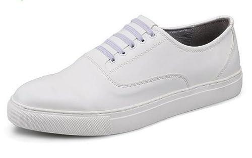 Top4man - Mocasines de Charol para hombre Blanco blanco: Amazon.es: Zapatos y complementos