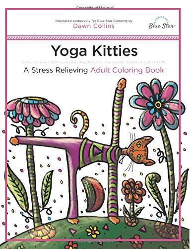 Yoga Kitties Stress Relieving Coloring product image