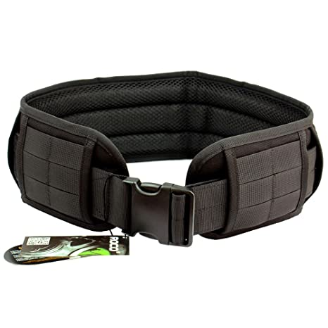 Amazon.com   Tactical Padded Patrol Belt Tactical Molle Waist Band ... 6c6ffe58928