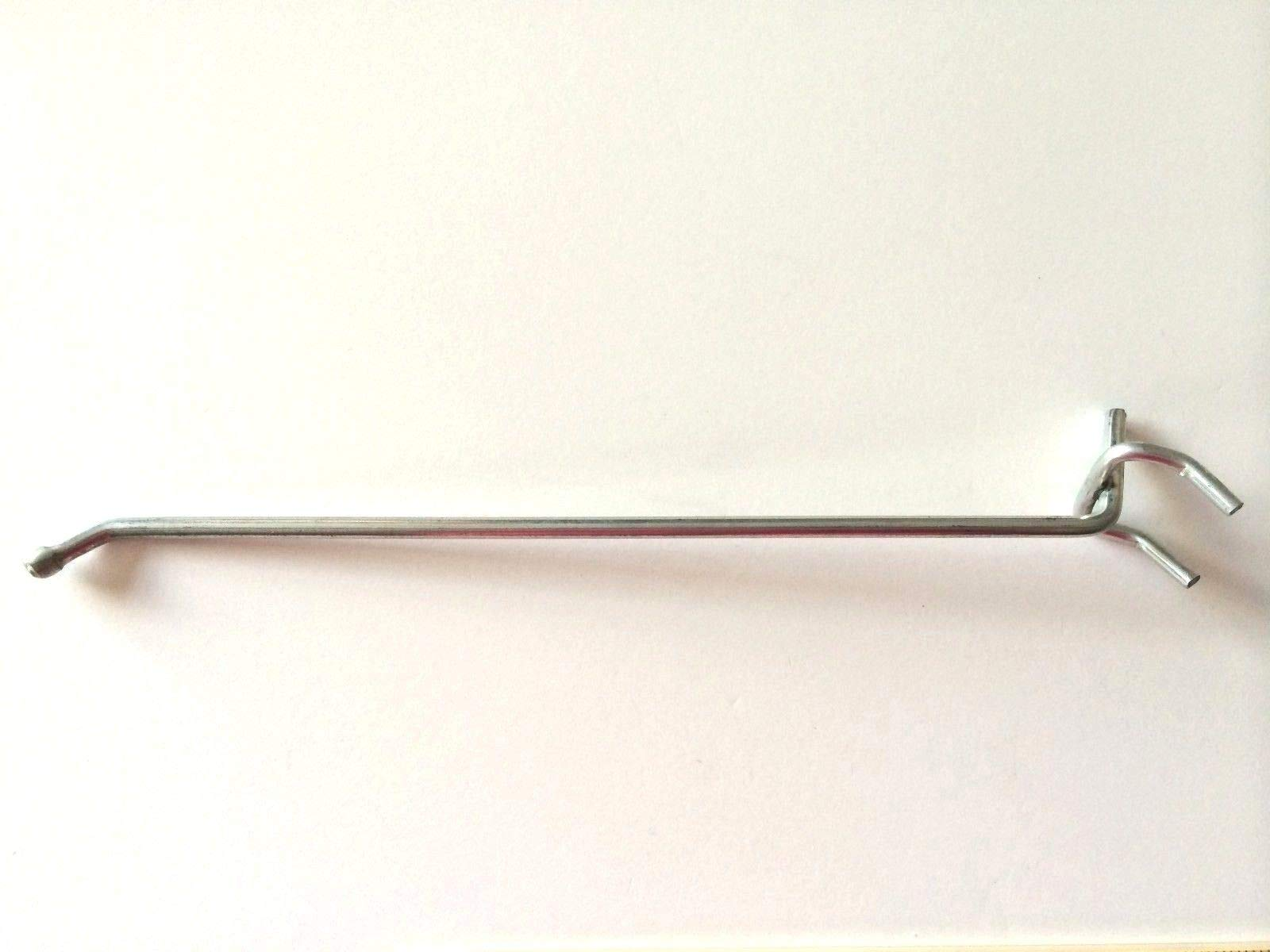 (250 PACK) USA Made 8 Inch Metal Peg Hooks. For 1/8 & 1/4'' Pegboard or Slatwall by STRIKE (Image #3)