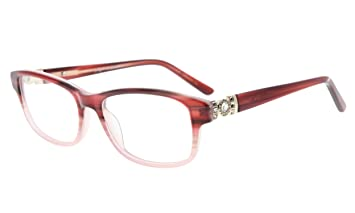 9ccb968d4891 Image Unavailable. Image not available for. Color: Eyekepper Womens Glasses  Frame Rx-able Acetate Eyeglasses ...