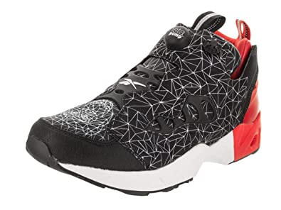 be82c9f291c Reebok Men Instapump Fury Road CNY (Black Motor red White)