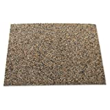 Rubbermaid Commercial Landmark Series Panel, 15 7/10 x 27 9/10 x 3/8, Stone, River Rock - Includes four panels.
