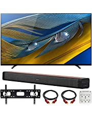 "$1698 » Sony XR55A80J 55-inch A80J 4K OLED Smart TV (2021 Model) Bundle with Deco Home 60W 2.0 Channel Soundbar, 37""-100"" TV Wall Mount Bracket Bundle and 6-Outlet Surge Adapter"