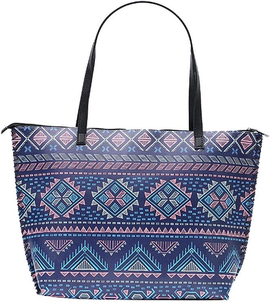 Vintage Bohemian Tote Bag Large Printed Bags Water Resistant Totes for Women