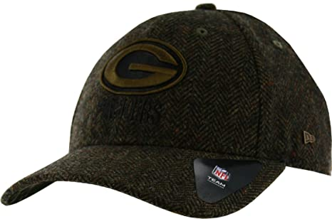 5d003f62b Image Unavailable. Image not available for. Color  NFL Green Bay Packers  Tweed Camo 9FORTY Wool Premium Adjustable Hat ...