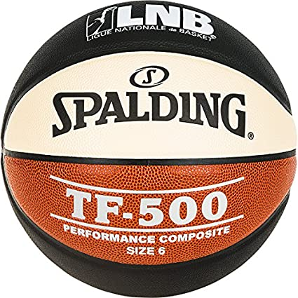 Spalding LNB TF500 – Balón de Baloncesto Unisex, Color Negro ...