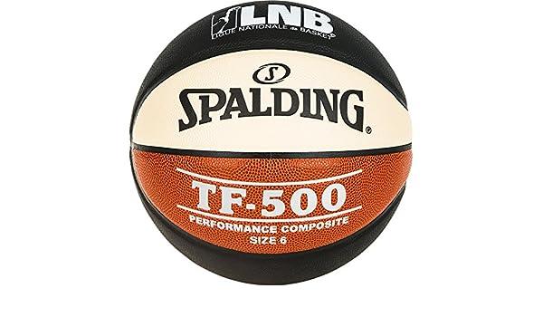 Spalding LNB TF500 - Balón de Baloncesto Unisex, Color Negro ...